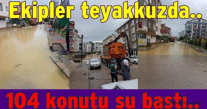 En çok yağmur Ordu Üniversitesine yağdı..