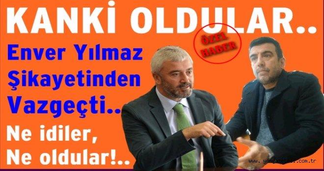 Enver Yılmaz ile Mustafa Tomakin barıştılar..