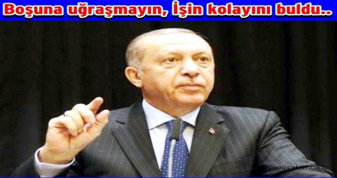 Erdoğan Belediyeleri kendine bağlayacak..