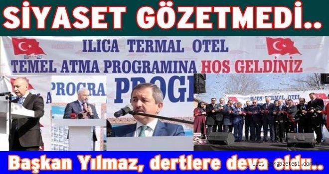 Fatsa, Ilıca'da Termal otel inşaatının temeli atıldı..
