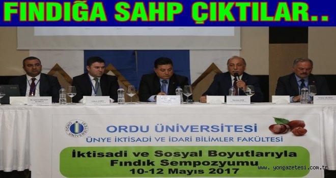 FINDIK SEMPOZYUMU BAŞLADI..