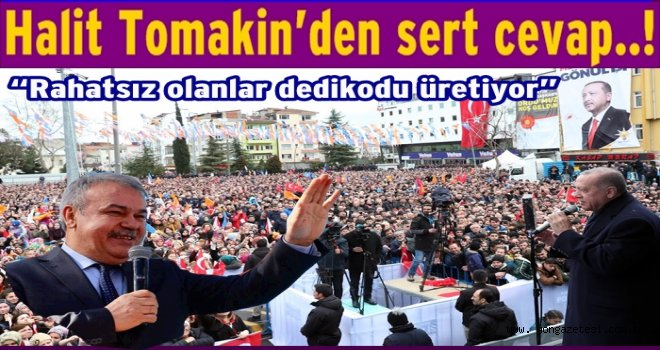 """Halit Tomakin, """"Erdoğan gelmiyor, art niyetliler var.."""""""