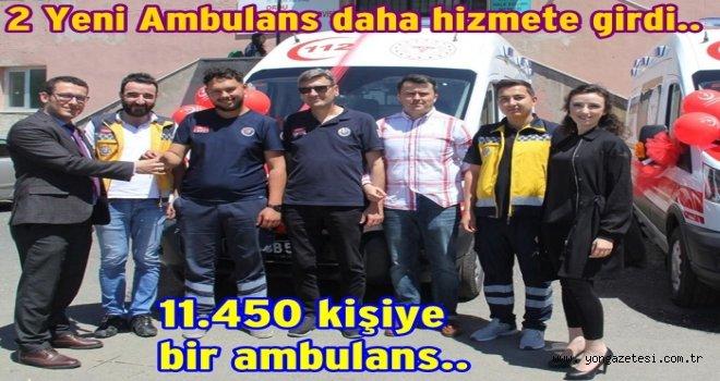 Hastalık arttıkça, Ambulans sayısı da artıyor..