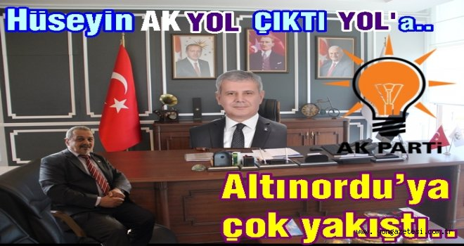 Hüseyin Akyol, Altınordu için adaylığını açıkladı..