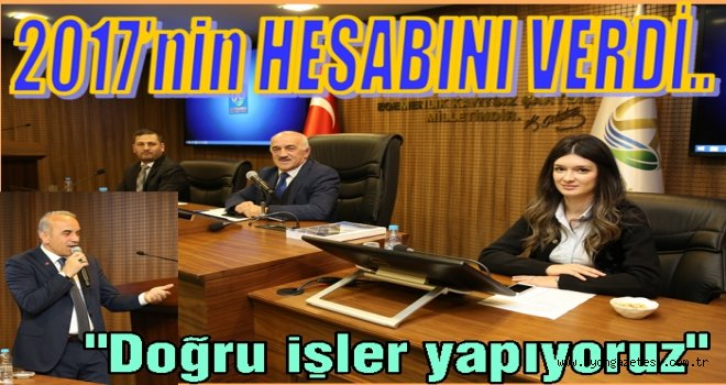 İDARİ FAALİYET RAPORU KABUL EDİLDİ..