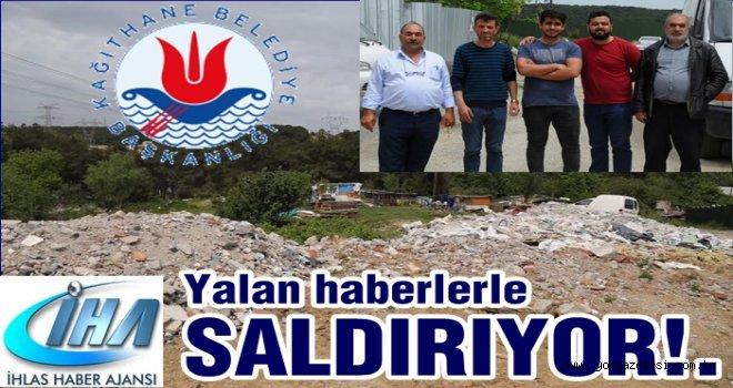 İHA belediyeye saldırmaya devam ediyor..