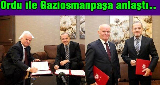 İki Üniversite arasında AR-GE Protokolü imzalandı..
