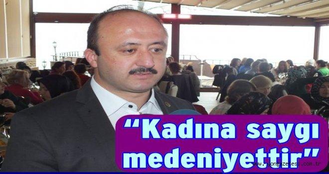 İsmail Çelenk'in Kadınlar günü mesajı..