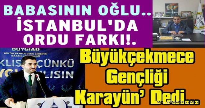 İstanbul'da bu ilçeyi bir Ordu'lu temsil edecek..
