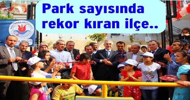 İSTANBUL'DA EN ÇOK PARK KAĞITHANE'DE  BULUNUYOR..