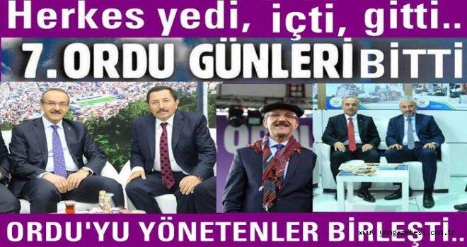 İstanbul'da yapılan Ordu günleri sona erdi..