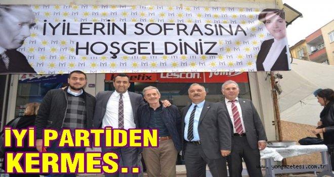 İYİ PARTİ,  İYİLİK SOFRASI KURDU..