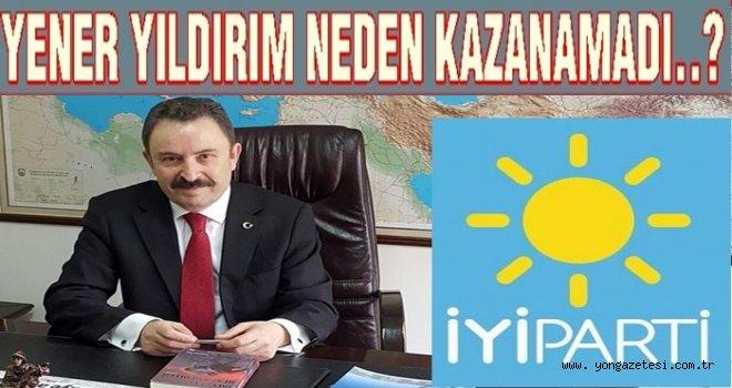 İYİ Parti dayı Yener Yıldırım'a hatırlatıyoruz..
