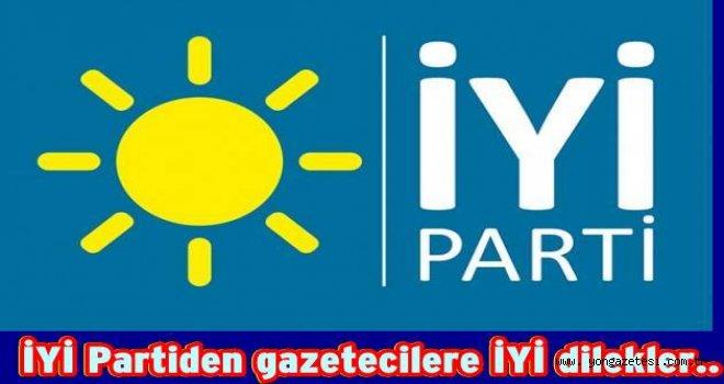 İYİ Parti İl yönetiminden 10 Ocak kutlaması…