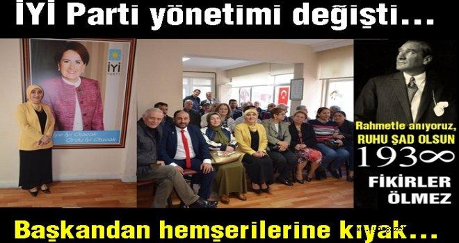 İYİ Parti yeni yönetim kurulunu açıkladı..