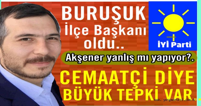 İYİ Partinin kurucu başkanlığına Tuncay Buruşuk getirildi..