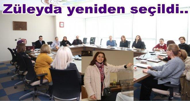 Kadın girişimciler kurulunda görev dağılımı yapıldı..