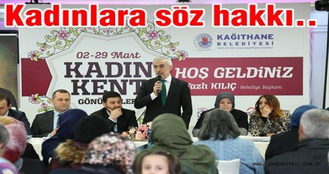 KADIN KENT GÖNÜLLÜLERİ TOPLANTILARI BAŞLADI..