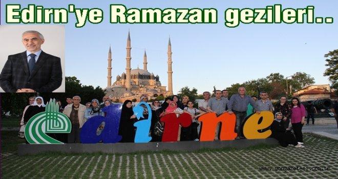 Kağıthaneli'ler serhat şehri Edirne'de..