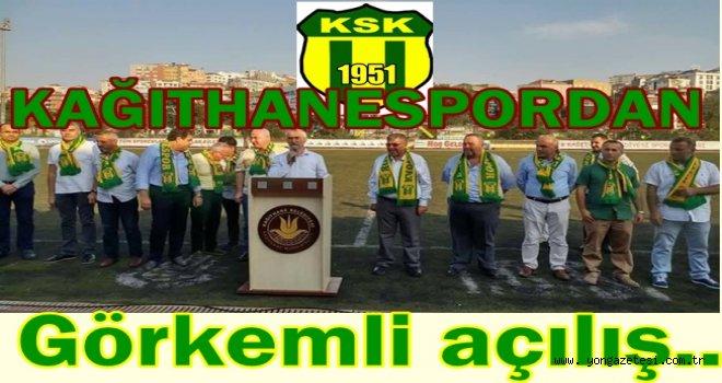 Kağıthanerspor yeni sezonu şampiyonluk parolası ile açtı..