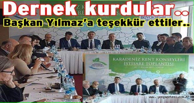 Karadeniz kent konseyleri birliği Ordu'da toplandı..