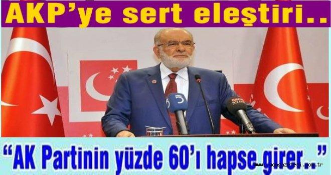 """Karamollaoğlu, """"ÖNCE KENDİ İÇİNİZİ TEMİZLEYİN"""""""