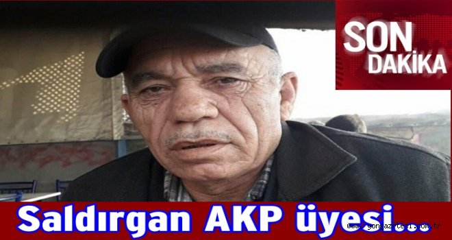 Kılıçdaroğlu'na yumruk atan saldırgan AKP üyesi..
