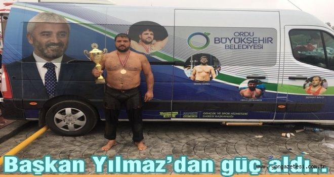 Kırkpınar'da Recep Kara'dan çifte şampiyonluk..