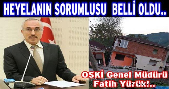 """Mahalle halkı Sorumlu """"OSKİ Müdürü"""" dedi."""