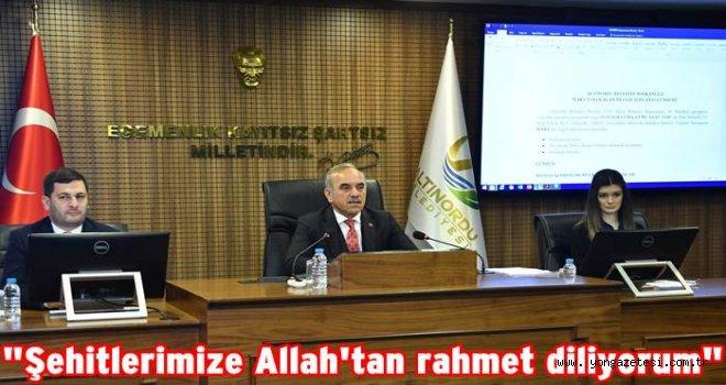 Mart Ayı Olağan Meclis Toplantısı gerçekleştirildi.