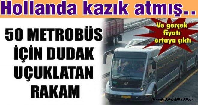 """Meclise önerge verdiler. """"Metrobüsleri iade edin"""""""