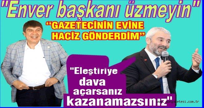 """Menderes Türel, """"Yalan yazan gazetecileri yok sayarım"""""""