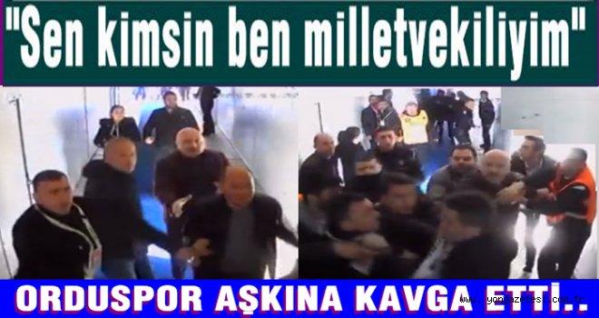 Metin Gündoğdu Orduspor uğruna kavga etti..