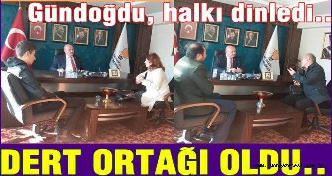 Metin Gündoğdu Pazar gününü vatandaşlara ayırdı..