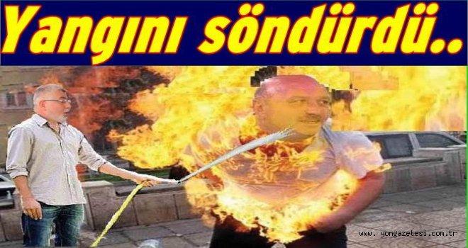 Metin Gündoğdu'yu Oktay Çanak kurtardı..