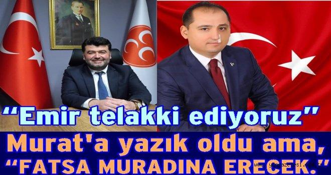 MHP Fatsa İlçe Başkanlığından açıklama..