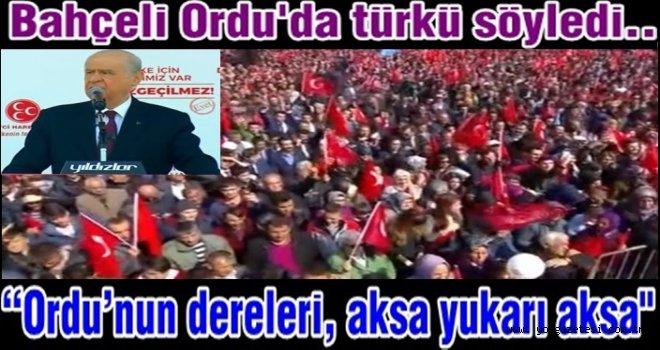 """MHP Lideri Devlet Bahçeli, """"EVET"""" için geldi.."""