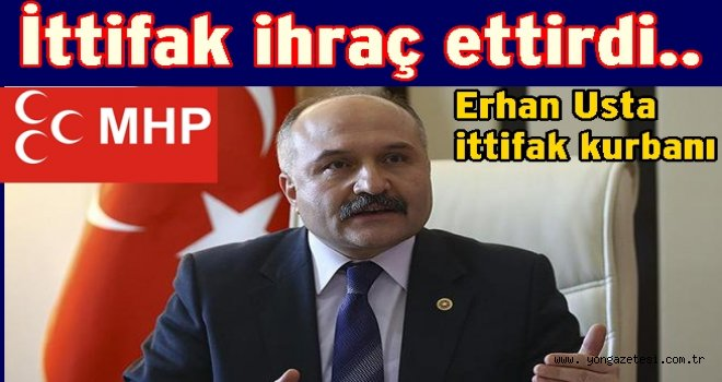 MHP Milletvekili partiden ihraç edildi..