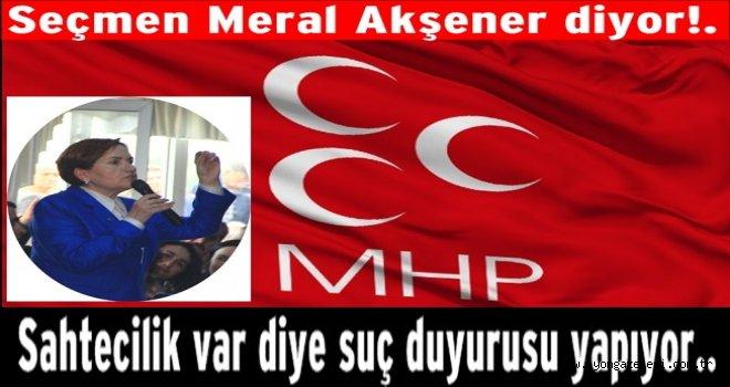 MHP'den pazar günkü kurultay için suç duyurusu..