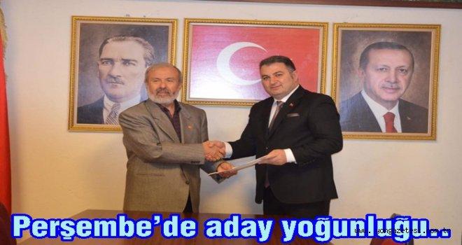 Muhittin Sert de AK Partiden adaylığını açıkladı..