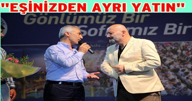 MUTSUZ ÇİFTLERE TAVSİYELERDE BULUNDU..