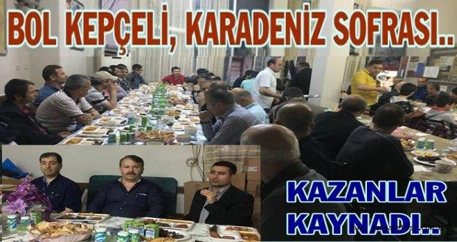 Nurtepe  Karadenizliler derneğinden  bol  kepçe iftarı..