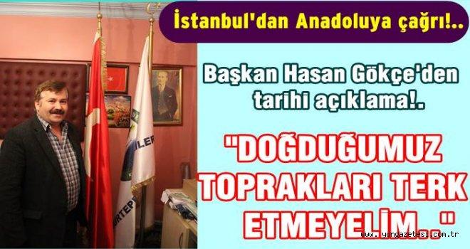 Nurtepe Karadenizliler derneğinden tarihi çağrı!..