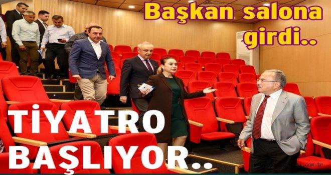 OBBKT Tiyatrosu yeni sezona hazırlanıyor..
