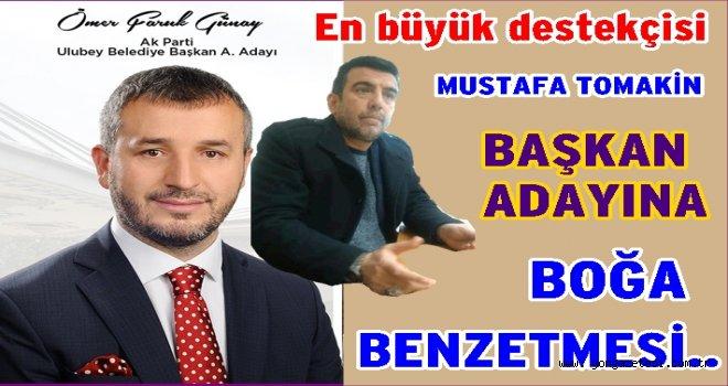 Ömer Faruk Günay'a Boğa benzetmesi..