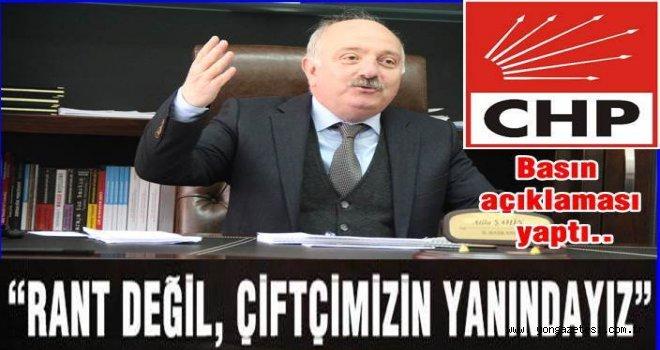 Ordu İl başkanı ATİLA ŞAHİN basın açıklaması yaptı..