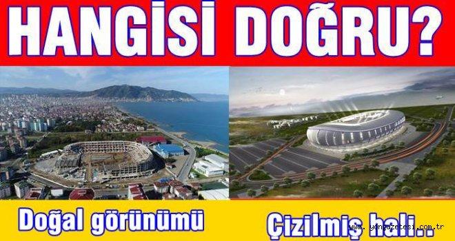ORDU STAT PAROJESİNİN GERÇEKLE İLGİSİ YOK!..