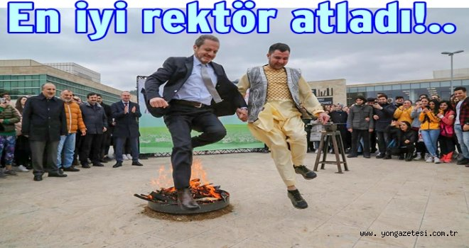 Ordu Üniversitesi Nevruz Bayramını kutladı..