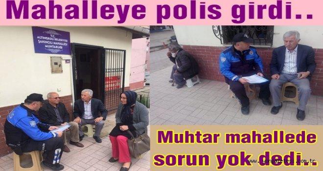 Ordu'da Mahalle polisi uygulaması başladı..