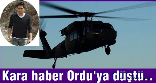 ORDU'LU GENÇ HAKİM DE ŞEHİT OLDU..